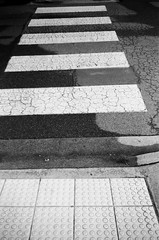 Don't cross my path (Matthew Paul Argall) Tags: kodakstar500af autofocus 35mmfilm ilforddelta100 100isofilm blackandwhite blackandwhitefilm pedestriancrossing