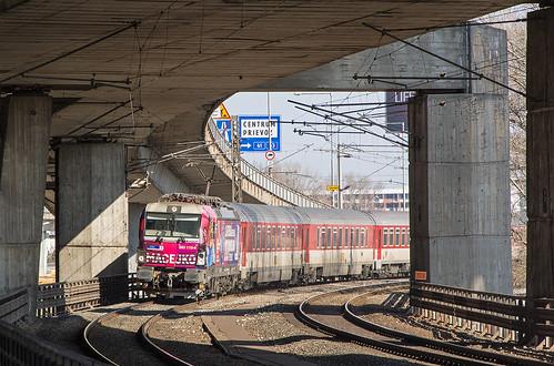 Pod mostom I.   383.110   IC 44   ÚNS - Petržalka