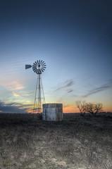 Texas Windmill Sunset (Phil Ostroff) Tags: texas windmill sunset dusk