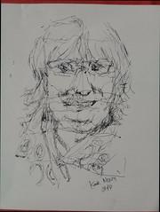 Kate Nixon JKPP Pen Glossy paper (qismet_99) Tags: jkpp portrait