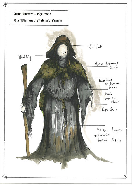 Dungeon Costume Designs - The Wise One