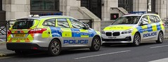 Metropolitan Police - BX14 EGZ & YX68 FGV (999 Response) Tags: metropolitanpolice bx14egz yx68fgv metropolitan police ford bmw london hgr agq