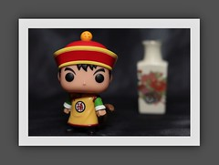 Funko Pop collectible (N.the.Kudzu) Tags: tabletop toy collectible funkopop asian vase canondslr canoneflens canon430ex flash photoscape frame home