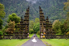 Handara Gate (Kostas Trovas) Tags: handaragate model tropical architecture art asia bali balineseart center dress entrance gate indonesia jungle landscape minimalist portrait rainforest walking woman worldtraveler