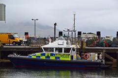 (Zak355) Tags: rothesay isleofbute bute scotland scottish police policeboat launch lismore harbour