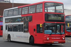 National Express West Midlands Dennis Trident 2/Alexander ALX400 4360 (BX02 AVT) (Wolverhampton) (john-s-91) Tags: nationalexpresswestmidlands dennistrident2 alexanderalx400 4360 bx02avt westbromwich route79 thetimes2019