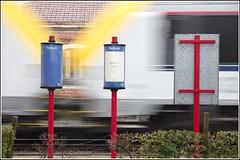 departure ('vincent') Tags: pentaxk32 pentax departure depart trein train