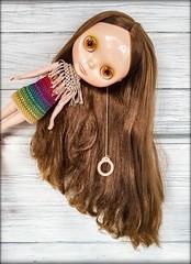 """Nouvelle fille dit bonjour! 👋😃❤ #teafortwo #blytheteafortwo #bly the #takara #takarablythe #crochet #crochetblytheclothes #crochetdollclothes #blythedress #blytheoutfit #blytheclothes • <a style = """"taille de police: 0.8em;"""" href = """"http://www.flickr.com/photos/142495299@N04/47382028592/"""" target = """"_ blank""""> Voir sur Flickr </a>"""