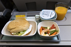 Korean Air KE728 Flight Meal (Synghan) Tags: ke728 korea korean air koreanair flightmeal sandwich bread eating dining lunch airline airlines travel trip tourism journey water service food foods meal meals cuisine snack brunch overseas japan kansai airport aircraft plane airplane midair photography horizontal indoor colourimage fragility freshness nopeople foregroundfocus adjustment interesting awe wonder fulllength depthoffield canon eos80d 80d sigma 1750mm f28 delicious palatable 대한항공 기내식 기내식모음 샌드위치