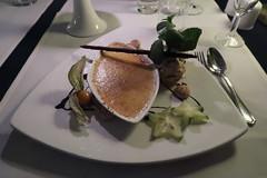 Crème brûlée und Walnusseis (als Nachtisch) (multipel_bleiben) Tags: essen gastronomie nachtisch eis