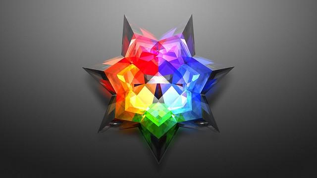 Обои форма, абстракция, узор, разноцветный картинки на рабочий стол, фото скачать бесплатно