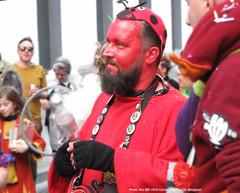 The Beetle Red Man (renaud.bierent) Tags: the beetle red man carnaval belgique tournai costumes joie cosplay déguisement ren bee renaud bierent portrait 2019 mars belgium folklore festival