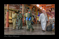 """""""Police Chiefs with their Sergeants - Dubai Gold Souk"""" (flavius200) Tags: flavius200 dorking photocraft camera club omani portrait bedu bedouin arabia desert sand scrub mountain sex married young female nikon d800 d800e wilfred thesiger desolate isolated uae burka hijab respect companion companionship partner love adoration 4x4 camping alone traveller exploring tribes david harford morning evening night market money racing track competition betting rich tradition"""