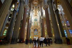 Sagrada Familia. Barcelona, Spain (varfolomeev) Tags: 2018 испания церковь spain church fujifilmxt10 samyang12mm
