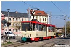 Tram Frankfurt (O) - 2019-01 (olherfoto) Tags: bahn tram tramcar tramway villamos strasenbahn tatra kt4d frankfurtoder