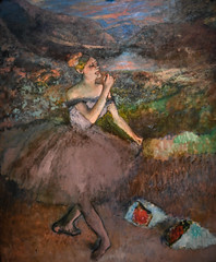 Edgar Degas - Dancer with Bouquets, 1900 at Chrysler Museum of Art Norfolk VA (mbell1975) Tags: norfolk virginia unitedstates us edgar degas dancer with bouquets 1900 chrysler museum art va museo musée musee muzeum museu musum müze museet finearts fine arts gallery gallerie beauxarts beaux galleria painting impression impressionist impressionism french