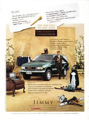 1997 GMC Jimmy USA Original Magazine Advertisement (Darren Marlow) Tags: 1 7 9 19 97 1997 g m c gm gmc general motors j jimmy car cool collectible collectors classic a automobile v vehicle u s us usa united states american america 90s