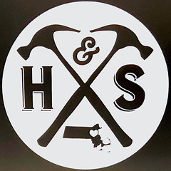 H&S (Timothy Valentine) Tags: squaredcircle sign 2019 large 0119 easton massachusetts unitedstates us