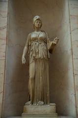 Athena (sarowen) Tags: thelouvre muséedulouvre louvremuseum paris parisfrance france statue athena