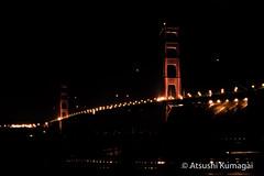 The Iconic Golden Gate Bridge (kumagai.atsushi) Tags: goldengate goldengatebridge bridge sanfrancisco sausalito fort marin marinheadlands night nightphotography