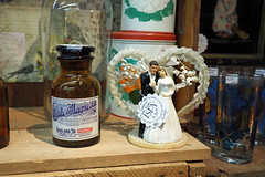 Till Death Us Due Part (Eclectic Jack) Tags: antique shop display 2019 february 14 14th love true valentine my be topper cake wedding couple