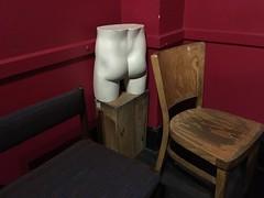 Two chairs, one bum. (Rockallpub) Tags: appleiphonese 800 bum chair red bar pub beer gplan