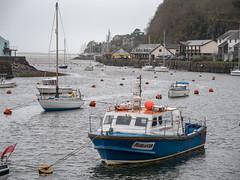 Porthmadog Harbour (Howie Mudge LRPS BPE1*) Tags: harbour porthmadog gwynedd wales cymru uk boats yachts sea water moody overcast travel adventure panasonicg9 mft m43 microfourthirds leicadg1260f2840 panasonicdcg9