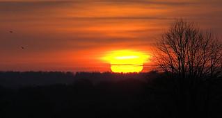 Sunset RAF Linton On Ouse 1522019