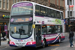 First Manchester 37382 (MX58 DWN) (SelmerOrSelnec) Tags: firstmanchester volvo b9tl wright mx58dwn manchester oldhamstreet routebranding 184 bus