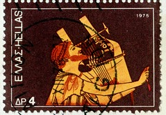 beautiful stamp Hellas Greece 4 dr. Citharode singer & Cithara (Kitharode, Kithara,  Kitarood, Citarista, Кифаред, Kitarista, Кіфаред  ) Griechenland Briefmarke greek stamps timbres Grèce selos Grecia bollo francobollo 希腊 邮票 yóupiào Xīlà  Греция марка pos (stampolina, thx for sending stamps! :)) Tags: greece hellas griechenland grèce grecia 希腊 xīlà греция stamps briefmarken timbres francobolli bollo selos sellos blau blue bleu timbreposte frimaerke postes portrait портрет ポートレート 肖像 retrato portret صورة portré citharode singer cithara kitharode kithara kitarood citarista кифаред kitarista кіфаред music musik musikinstrument singen antikesgriechenland antik ancientgreece ancient old anticagrecia grèceantique oldtidensgrækenland grækenland greek