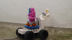 Valentine's Rover - Febrovery 2019 24 (captain_j03) Tags: toy spielzeug 365toyproject lego minifigure minifig moc febrovery space rover car auto dance tanz