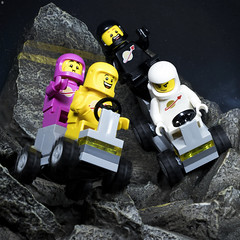 Space Race (Jezbags) Tags: space race astronaught spaceman spacemen rocks moon canon canon80d 80d 100mm macro macrophotography macrodreams macrolego lego legos toy toys