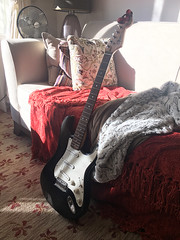 When My Daughter Leaves Her Toys Out (gpa.1001) Tags: guitar fender stratocaster