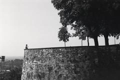 Bergamo (bumbazzo) Tags: bergamo alta città italia italy bn bianco nero bianconero bw black white blackwhite analog analogico pellicola film ilford fp4 landscape landscapes panorama panorami paesaggio paesaggi