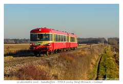 Caravelle TTDA - Sundhoffen (CC72080) Tags: ttda caravelle x4395 train automotrice zug extrafahrt sundhoffen sncf
