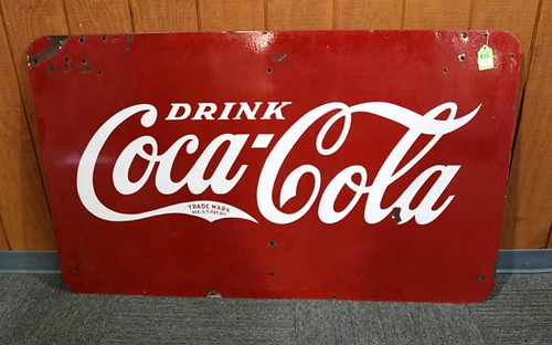 Drink Coca Cola Porcelain Sign ($840.00)