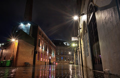 When the streets have no name (EricMakPhotography) Tags: leeds rain corn exchange night yorkshire historic reflection