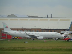 Al Habtoor Group Embraer Lineage 1000 (ERJ-190-100 ECJ) A6-KAH at CBG (robertetienne) Tags: embraer lineage1000 erj190 alhabtoorgroup cambridgeairport aircraft airplanes jets aviation a6kah