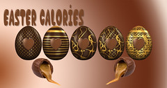 Easter Calories (ClaraDon) Tags: photoshop easter chocolate