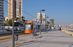 2019 Spanje 0570 El Campello (porochelt) Tags: elcampello spanje e comunidadvalenciana provinciadealicante strasenbahn tranvía tram tramway spain spanien españa espagne