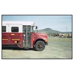 Travel Bus (DennisTheBrown) Tags: 35mmlens voigtlander rangefinder film 35mmfilm colorfilm colorplus200 leicam2 kodak
