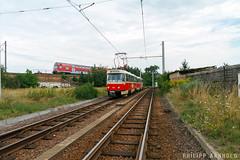 IMG_7875-2 (philipp138) Tags: beiwagenzug t4d b4d ckd tatra überlandbahn