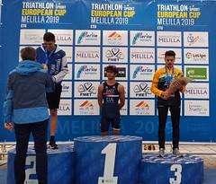 Team Clavería triatlón Melilla Copa Europa élite  júnior clasificatorio Campeonato España 16