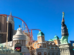 The Big Apple Coaster Las Vegas (ThemeParkMedia) Tags: the big apple coaster las vegas roller hotel new york