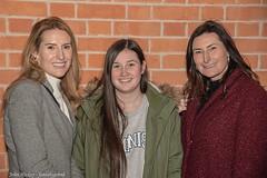 Ladies - DSC_0221 (John Hickey - fotosbyjohnh) Tags: 2018 december2018 dublin ireland samuelbeckettbridge portrait woman lady female person people night