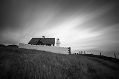 Dingle Lighthouse (Kieran Culleton) Tags: canon landscape ligthouse longexposure exposure eos 5d3 bw blackandwhite black beach lines light land lastlight kerry ireland dingle