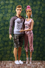 cute couple (photos4dreams) Tags: blond blonde dress barbie mattel doll toy photos4dreams p4d photos4dreamz barbies girl play fashion fashionistas outfit kleider mode puppenstube tabletopphotography fleamarket finding flohmarktfund diorama scenes 16 canoneos5dmark3