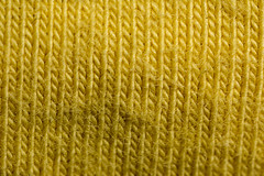 blend (jlodder) Tags: macromondays cloth cotton spandex blend mpe65mmf2815xmacrophoto stiching yellow fabric 31 3x cropped wrinkled