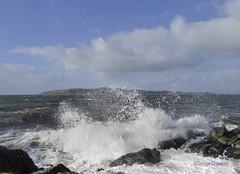 Post Erik Portencross2 (g crawford) Tags: portencross ayrshire northayrshire storm erik eric stormerik stormeric crawford wave wavy breaker cumbrae weecumbrae littlecumbrae smallcumbrae clyde riverclyde firthofclyde wind windy weather sea water westkilbride