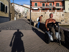 Kissed by the sun (mr.reverend) Tags: sun summer man vacation tan relax rest sea street streetphoto streetphotography streetlife candid urban urbanlife city citylife cilento campania italy